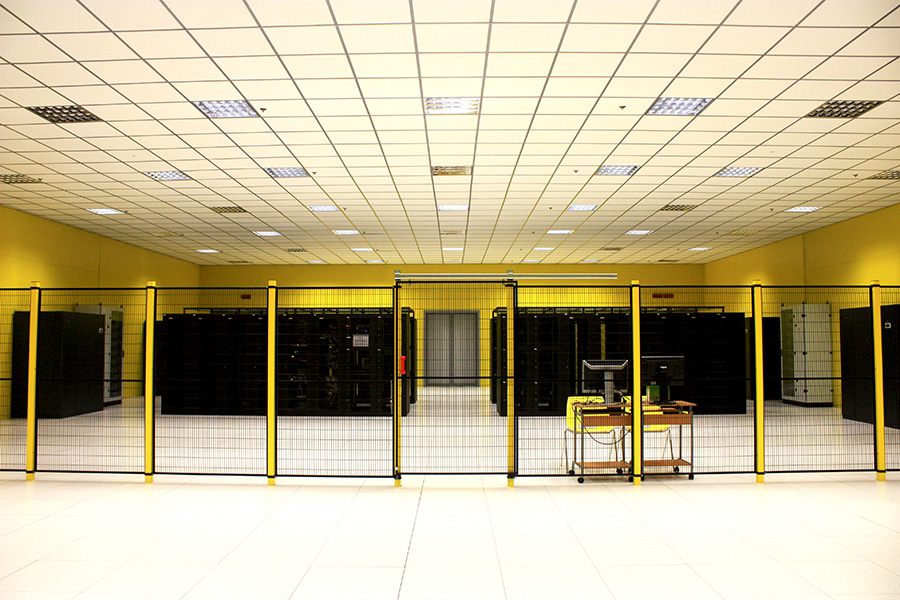 Panoramica frontale Cage - Datacenter Frosinone 2