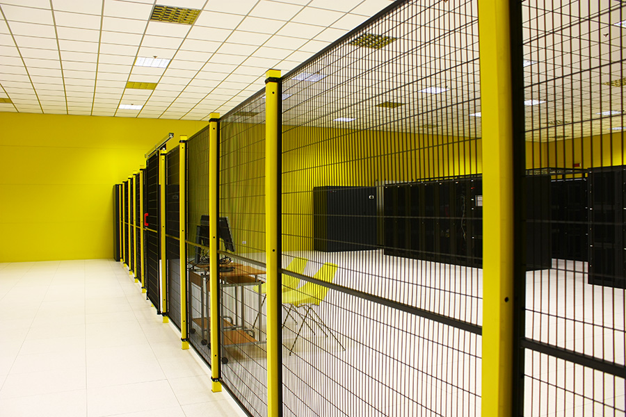 Panoramica Cage Seeweb - Datacenter Frosinone 2